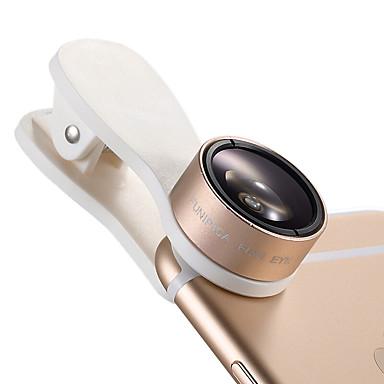 Handy-Objektiv Fischaugen-Objektiv Weitwinkelobjektiv Makro-Objektiv 10x und höher