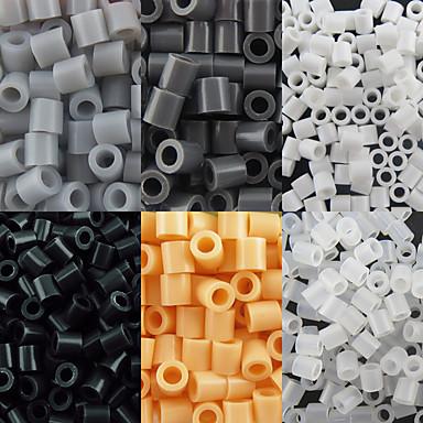 aproximativ 500pcs / sac de 5 mm margele margele de siguranțe HAMA DIY puzzle eva safty materiale pentru copii (asortate cu 6 culori, B44-B50)
