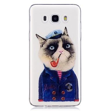 Maska Pentru Samsung Galaxy J7 (2016) J5 (2016) IMD Model Capac Spate Pisica Moale TPU pentru J7 (2016) J5 (2016) J3 (2016) J3