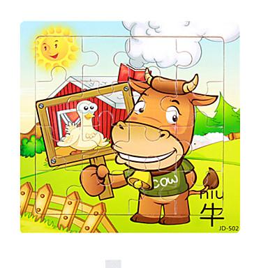 Puzzles Holzpuzzle Bausteine Spielzeug zum Selbermachen Bulle