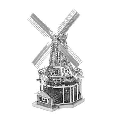 3D - Puzzle Holzpuzzle Metallpuzzle Spielzeuge Windmühle Berühmte Gebäude Architektur 3D Heimwerken Metal Aleación keine Angaben Stücke