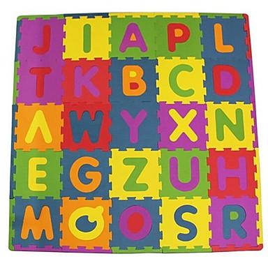 Puzzle Jucarii Pătrat Scrisă Ecologic EVA Cauciuc Spongios Pentru copii Bucăți