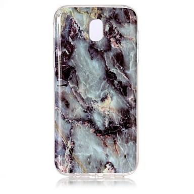 Case For Samsung Galaxy J7 (2017) / J3 (2017) IMD / Pattern Back Cover Marble Soft TPU for J7 (2017) / J5 (2017) / J3 (2017)