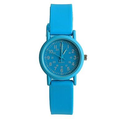 للمرأة كوارتز ساعة المعصم ياباني / سيليكون فرقة كاجوال موضة أزرق