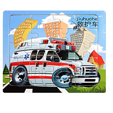 تركيب سيارة / بيت / شاحنة خشبي أنيمي للجنسين هدية