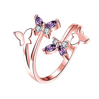Pentru femei manşetă Ring Zirconiu Cubic La modă Aliaj Animal Shape Bijuterii Pentru Nuntă Petrecere Zilnic
