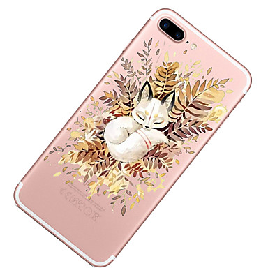 Plus Custodia 8 06086911 Per iPhone X Per 8 TPU 8 per Transparente iPhone Fantasia Morbido Gatto iPhone iPhone retro disegno Apple Ta4Twr