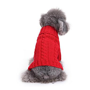 Hund Pullover Hundekleidung Lässig/Alltäglich Massiv