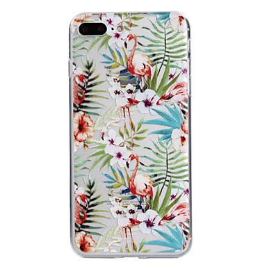 Voor apple iphone 7plus 7 telefoon hoesje tpu materiaal flamingo serie telefoon hoesje 6s plus 6plus 6s 6 zie 5s 5