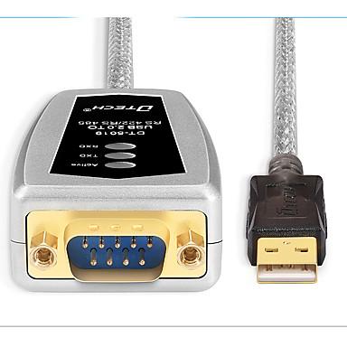 USB 2.0 شاحن, USB 2.0 to RS485 RS422 شاحن ذكر- ذكر 1.8M (و 6ft)