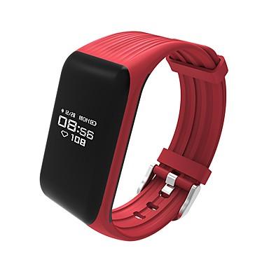 Brățară inteligent K1 for iOS / Android Touch Screen / Monitor Ritm Cardiac / Rezistent la Apă Pedometru / Monitor de Activitate /