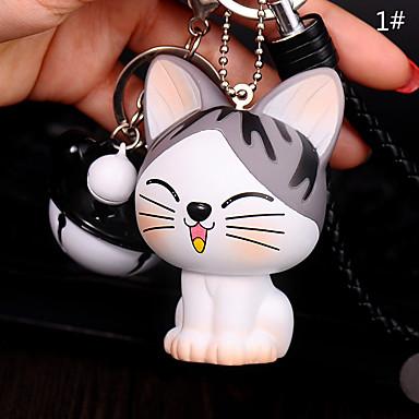 كيس / الهاتف / المفاتيح سحر القط الكرتون لعبة الهاتف حزام الكرة جرس بك