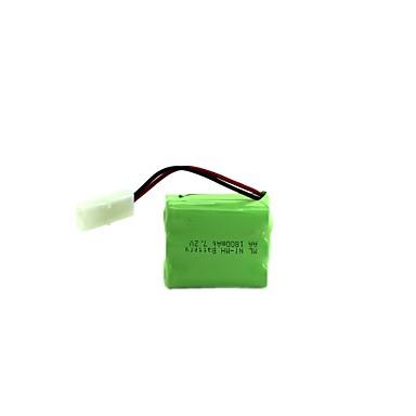 ml ni-mh baterie reîncărcabilă acumulator pachet aa 1800mah 7.2v