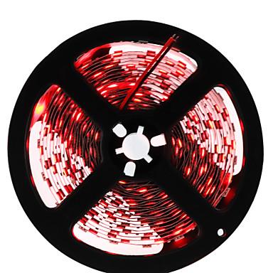 HKV Fâșii De Becuri LEd Flexibile 300 LED-uri Verde Galben Roșu Ce poate fi Tăiat Auto- Adeziv DC 12V