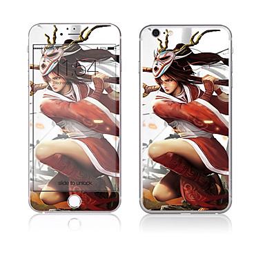 Ecran protector pentru Apple iPhone 6s Plus iPhone 6 Plus Sticlă securizată Ecran Protecție Față & Spate High Definition (HD) 9H Duritate
