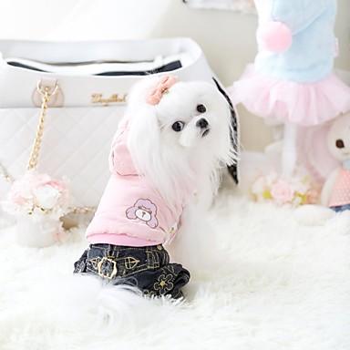 Hond Gilet Hondenkleding Casual/Dagelijks Effen Blauw Roze Kostuum Voor huisdieren