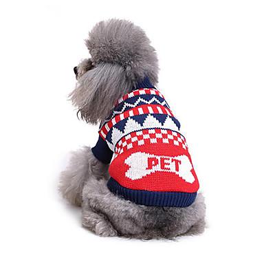 Hund Pullover Hundekleidung Lässig/Alltäglich Knochen Kostüm Für Haustiere