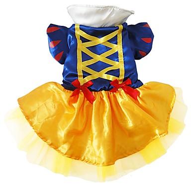 Hund Kostüme Hundekleidung Cosplay Prinzessin Blau Kostüm Für Haustiere