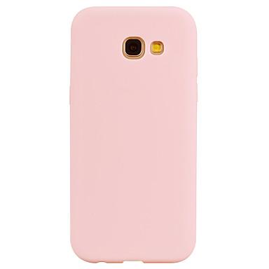 Maska Pentru Samsung Galaxy A5(2017) A3(2017) squishy Carcasă Spate Culoare solidă Moale TPU pentru A3 (2017) A5 (2017) A7 (2017)