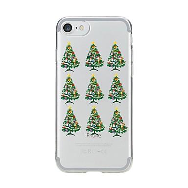 Maska Pentru Apple iPhone 7 Plus iPhone 7 Model Capac Spate Crăciun Moale TPU pentru iPhone 7 Plus iPhone 7 iPhone 6s Plus iPhone 6s