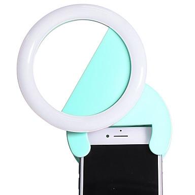 Cherllo s02l obiectiv de telefon din aluminiu condus de lumina de celule telefon mobil lentile kit pentru samsung android smartphone