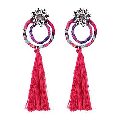 Pentru femei Cercei Picătură Bijuterii Personalizat Franjuri La modă Vintage Bohemia Stil Ștras Bijuterii PentruNuntă Alte Zilnic Casual