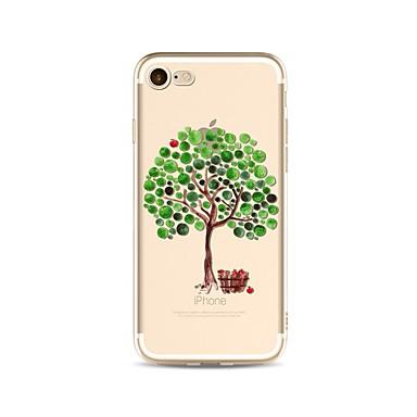 غطاء من أجل Apple iPhone X iPhone 8 Plus شفاف نموذج غطاء خلفي شجرة ناعم TPU إلى iPhone X iPhone 8 Plus iPhone 8 فون 7 زائد فون 7 iPhone