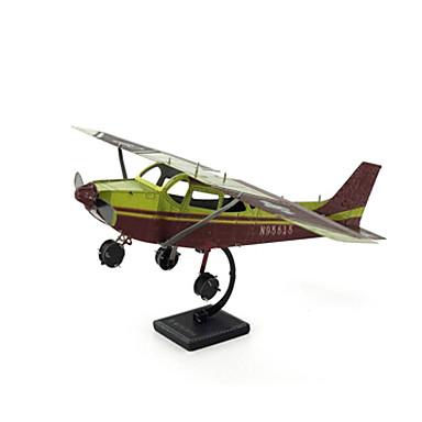 Holzpuzzle Metallpuzzle Spielzeuge Flugzeug Kämpfer Eagle 3D Heimwerken Einrichtungsartikel Edelstahl Kupfer Metal keine Angaben Stücke