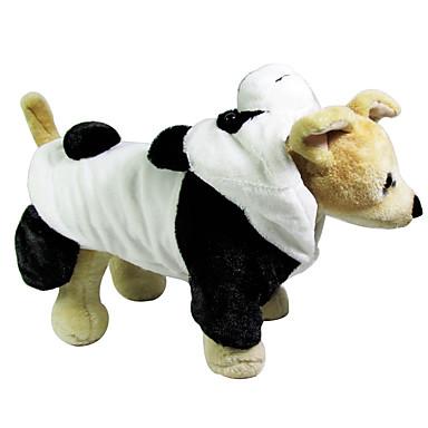 Câine Costume Îmbrăcăminte Câini Cosplay Desene Animate Negru/Alb