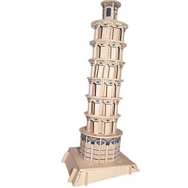 Puzzle 3D Puzzle Modelul lemnului Clădire celebru Casă Arhitectură 3D Lemn Lemn natural 6 ani și peste