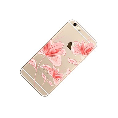 Per 7 Transparente disegno Per iPhone iPhone iPhone Morbido 06132819 Custodia 7 decorativo Plus Plus Fiore Fantasia 7 Apple iPhone iPhone TPU 6s 7 Plus per retro dfxvnWWwXz