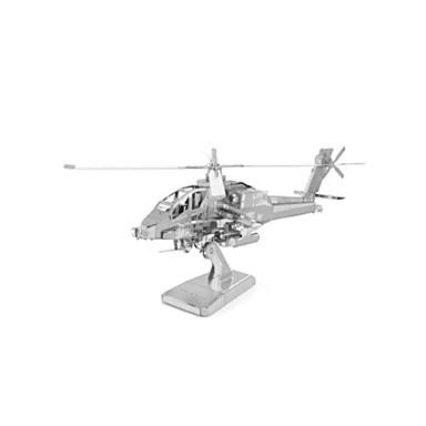 تركيب تركيب معدني دبابة طيارة المقاتل هليكوبتر 3D مواد تأثيث اصنع بنفسك الفولاذ المقاوم للصدأ معدن هليكوبتر للجنسين هدية