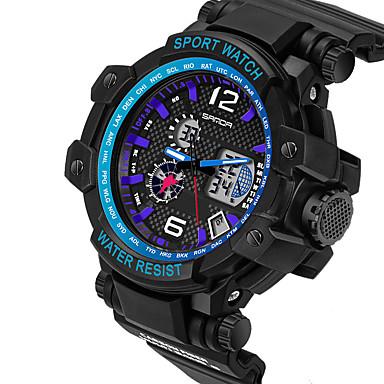 Heren Unieke creatieve horloge Polshorloge Militair horloge Modieus horloge Sporthorloge Vrijetijdshorloge Digitaal Kalender