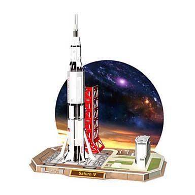 3D-puzzels Legpuzzel Speeltjes Vliegdekschip 3D Natuurlijk Hout Unisex Stuks