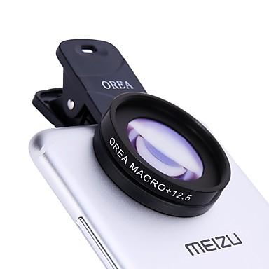 Orea mobiele telefoon lens met zelfontspanner clip 12,5x macro 20mm groothoek cpl externe lens