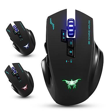 Combaterwing cw100 drahtlose Spielmaus optische Mäuse mit 4 einstellbaren dpi-Ebenen 8 Tasten 3 Farben Atem Lichter für PC