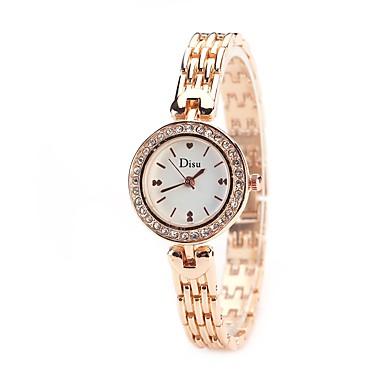 Pentru femei Ceas Elegant  Ceas La Modă Ceas de Mână Simulat Diamant Ceas Chineză Quartz imitație de diamant Aliaj Bandă Charm Heart