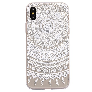 official photos f02e9 702db For iPhone X iPhone 8 Case Cover Pattern Back Cover Case Mandala ...