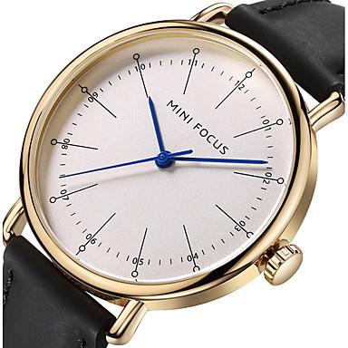 Bărbați Unic Creative ceas Ceas de Mână Ceas La Modă Ceas Sport Ceas Casual Japoneză Quartz Piele Autentică Bandă Charm Lux Creative