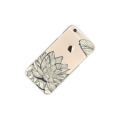 Per iPhone 06248233 Morbido iPhone 8 iPhone disegno 8 per iPhone Apple TPU retro decorativo Fantasia X Per iPhone 8 X Plus Fiore Custodia Transparente Szg4qUO