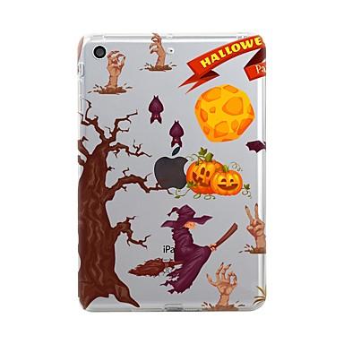 Pentru iPad (2017) Carcase Huse Transparent Model Carcasă Spate Maska Halloween Moale TPU pentru Apple iPad (2017) iPad Pro 12.9'' iPad