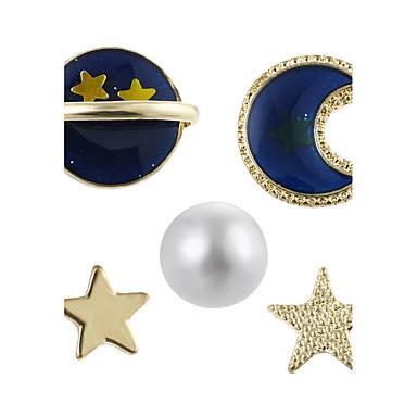 Pentru femei Cercei Stud Bijuterii Imitație de Perle Geometric bijuterii de lux Perle Aliaj Geometric Shape Bijuterii Pentru Petrecere