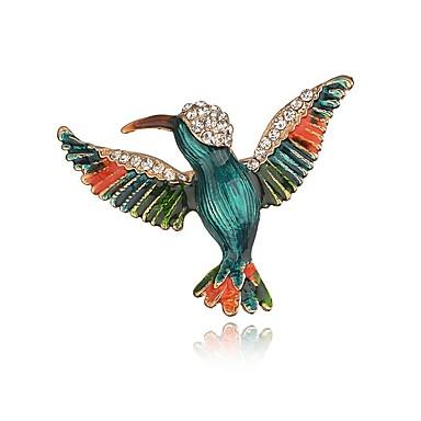 Pentru femei Fete Broșe Bijuterii Design Animal Adorabil Aliaj Pasăre Bijuterii Pentru Petrecere