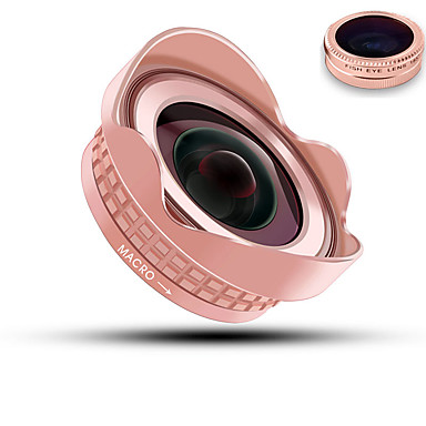 bluecase obiectiv mobil telefon 180 lentilă pentru ochi de pește uv obiectiv cu unghi larg obiectiv macro din aliaj de aluminiu 52mm