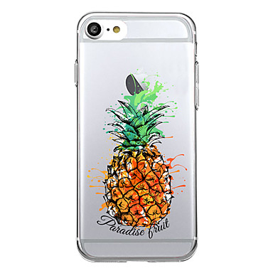 Fantasia Plus 7 iPhone Transparente 7 6s TPU Per Apple Custodia Frutta Per disegno iPhone iPhone retro 06207189 iPhone 7 7 iPhone Morbido per Plus TY8TIq
