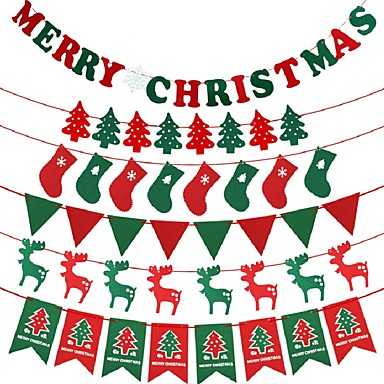 Holiday Decorations Christmas Decorations Christmas Trees   Stockings   Christmas  Flags Holiday 2   3   89e987b3bff8