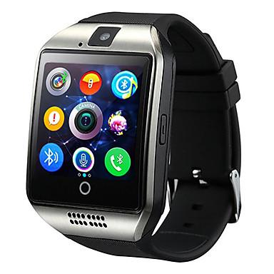 billige Herreure-q18 smartwatch armbånd bluetooth vandtæt telefon foto bevægelse trin tæller multi-funktion.