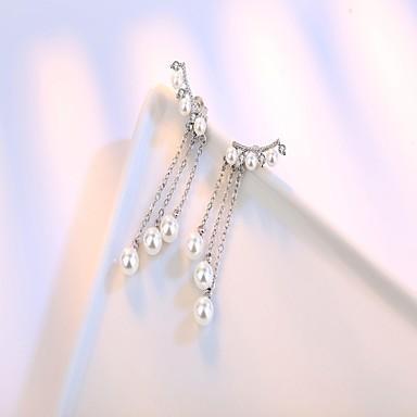 Pentru femei Cercei Stud Cercei Picătură Perle stil minimalist Plastic Circle Shape Bijuterii Pentru Petrecere Zilnic