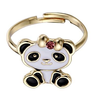Pentru femei Bijuterii manşetă Ring - Aliaj Panda Negru