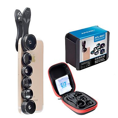 Obiectivul telefonului mobil Lentile cu Filtru / Lentile Fish-Eye / Lentile cu Focalizare Lungă Aliaj din aluminiu 10X și peste 198